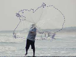 7' Fishing Cast Net, Fishing Tackle - Eat My Tackle