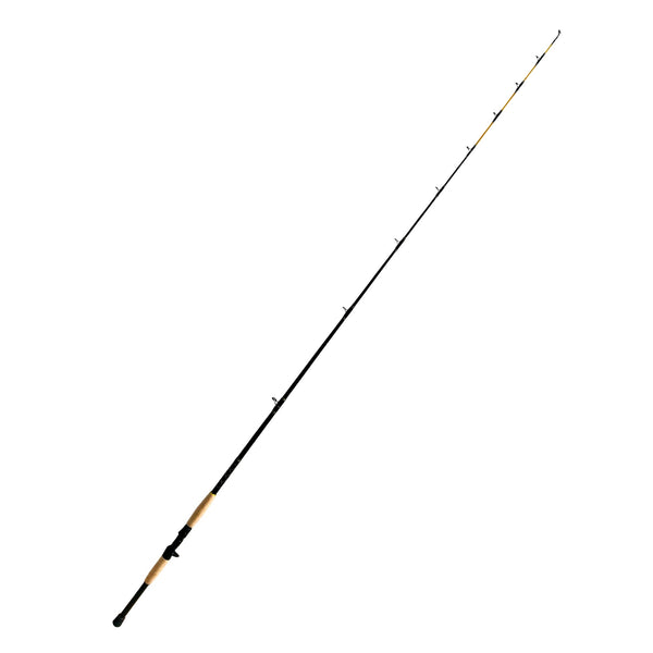 Classic Baitcaster 7ft. Saltwater Jigging Rod | 10-15 lb. Slow Action, Fishing Rods - Eat My Tackle