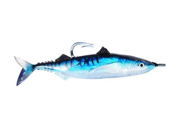 Soft Sardine Swimbait - Medium, 6/0 Hook, Fishing Lures - Eat My Tackle