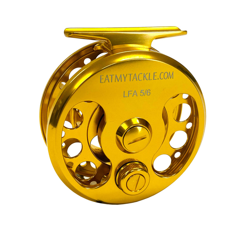 Large-Arbor Saltwater Fly Fishing Reel | 3/4, 5/6, or 7/8 wt., Fishing Reels - Eat My Tackle