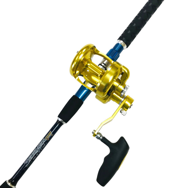 Big Daddy Saltwater Jigging Rod & Reel Combo, Rod & Reel Combos - Eat My Tackle