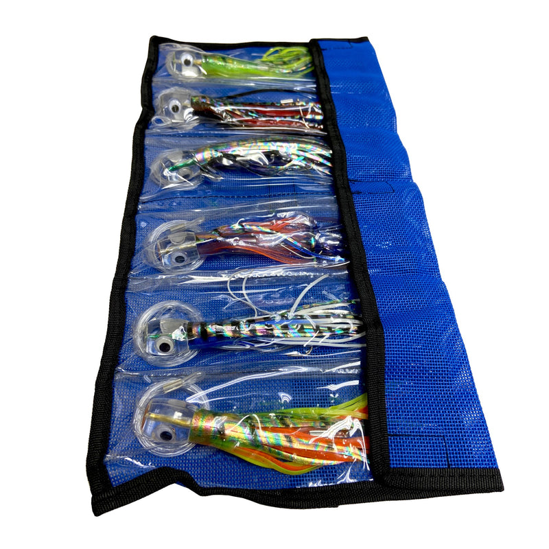 Billfish Pro Pack - 6 Fully Rigged Saltwater Fishing Lures, Fishing Lures - Eat My Tackle