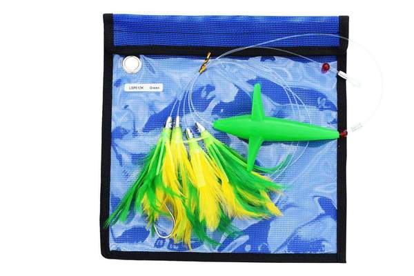 Bird Teaser Feather Daisy Chain - Included Lure Bag, Fishing Lures - Eat My Tackle