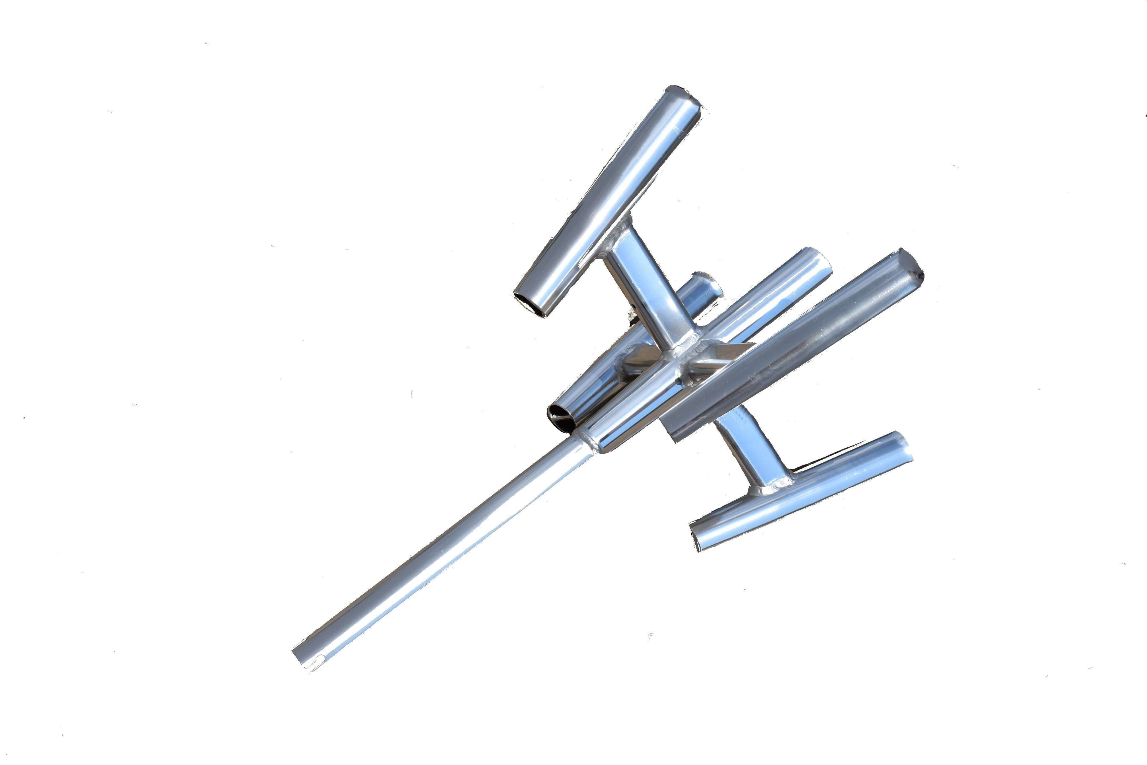 """Fishing Rod Holder for 5 Poles - Aluminum """"Rocket Launcher"""", Fishing Tackle - Eat My Tackle"""