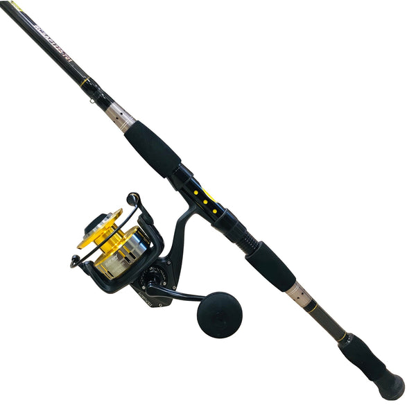 Ocean Technology 7000 Saltwater Spinning Combo, Fishing Rod & Reel Combos - Eat My Tackle