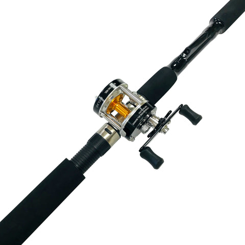 7 ft. Sabiki Bait Fishing Rod & Baitcaster Reel Combo, Rod & Reel Combos - Eat My Tackle