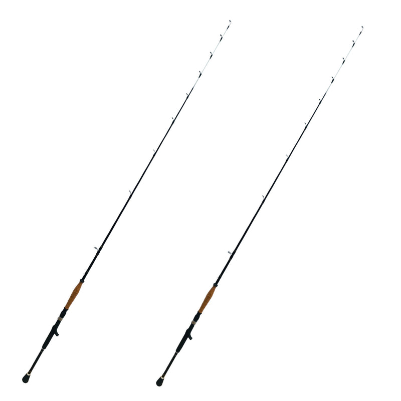 Dominator Baitcaster 7ft. Fishing Rod | 20-30 lb. Slow/Moderate Action, Fishing Rods - Eat My Tackle