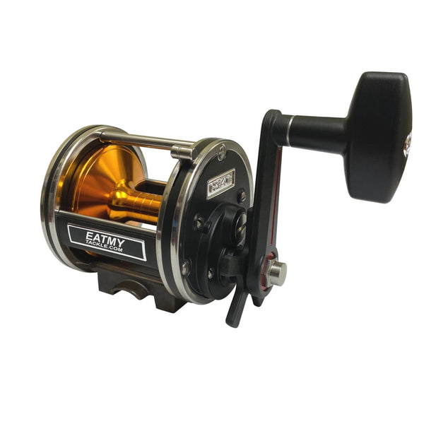 Conventional Star Drag Saltwater Boat Reel H346, Fishing Reels - Eat My Tackle