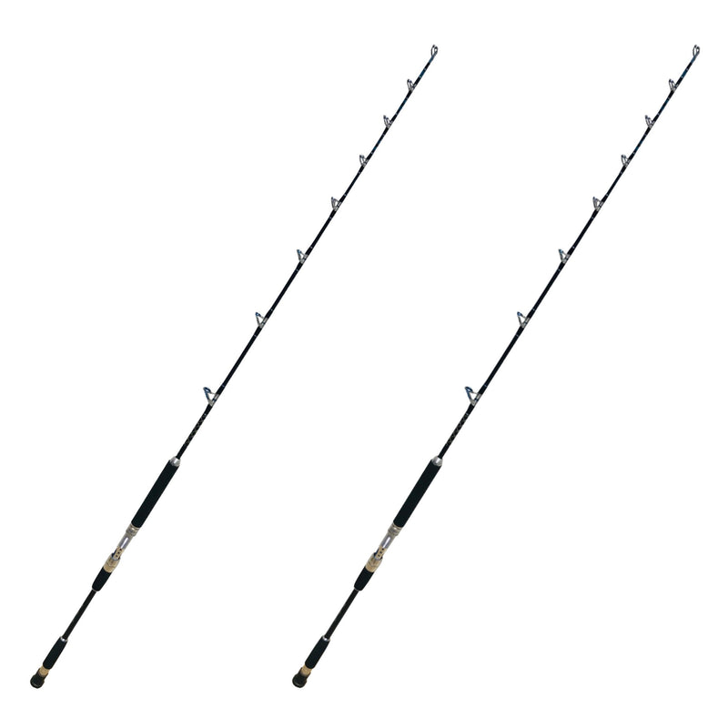 Amberjack King 2pc. Jigging Rod | 20-40 lb. Moderate Fast Action, Fishing Rods - Eat My Tackle
