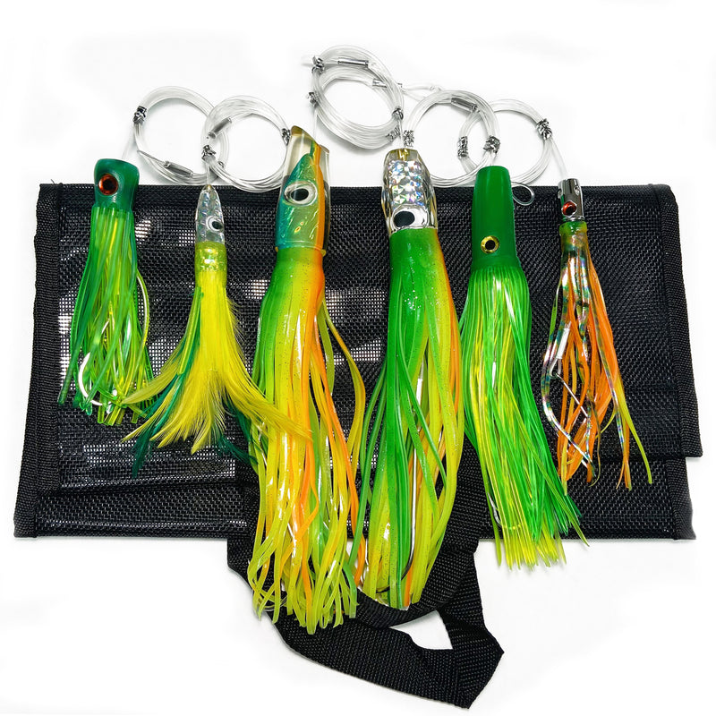 Dolphin Tournament Lure Bundle (6 Pack)