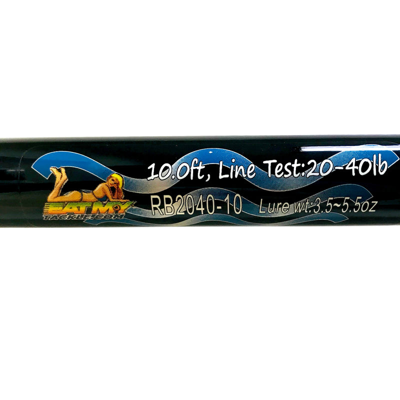 10 Ft 2 Piece Surf Rod Black Magic Eat My Tackle