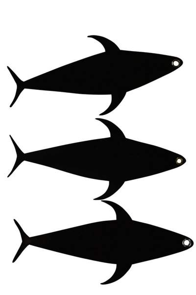 Tuna Mudflap Fishing Dredge Components (3 Pack), Fishing Lures - Eat My Tackle