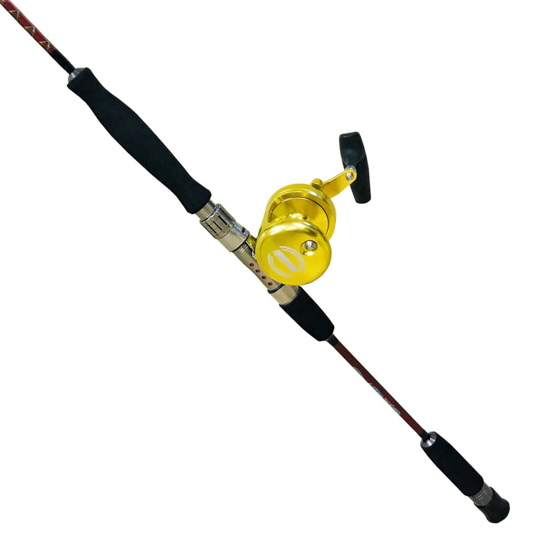 Snapper Whacker Saltwater Jigging Rod & Reel Combo, Rod & Reel Combos - Eat My Tackle