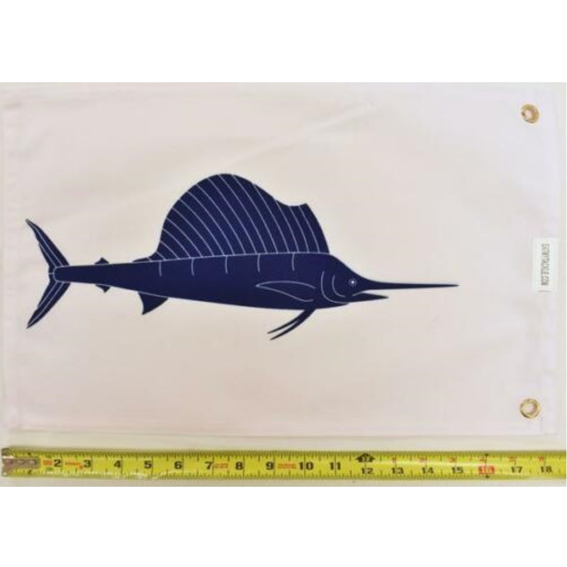 Sailfish Catch & Release Boat Flag, Fishing Tackle - Eat My Tackle