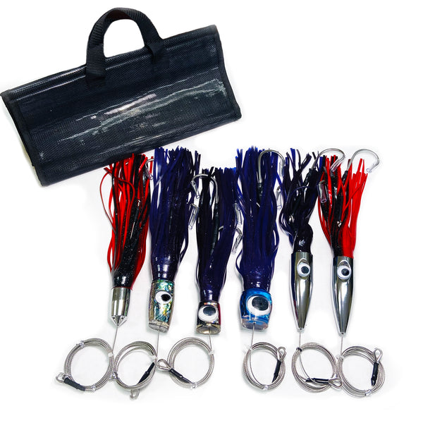 Wahoo Tournament Lure Bundle (6 Pack)