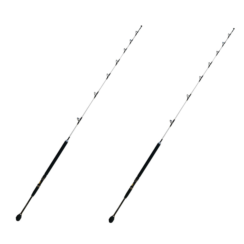 Tuna Terminator 2pc. Jigging Rod | 15-25 lb. Slow Action, Fishing Rods - Eat My Tackle