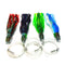 Slant Head Trolling Lures Variety 4 Pack - Medium, Assorted Colors