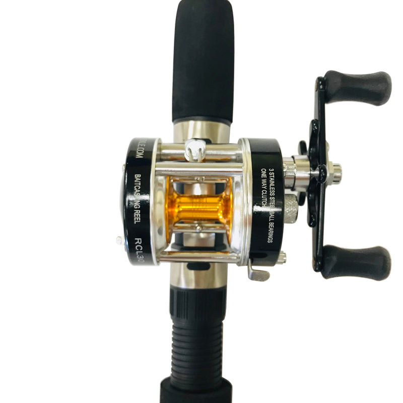 8 ft. Sabiki Bait Fishing Rod & Baitcaster Reel Combo, Rod & Reel Combos - Eat My Tackle