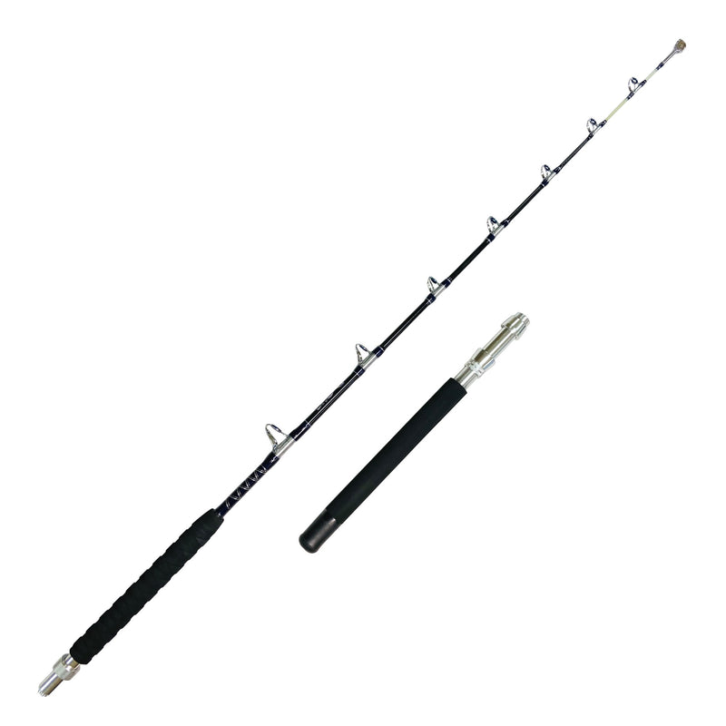 Bottom Feeder - 6ft. Fishing Rod | 30-50 lb. Heavy/Fast, Roller Tip, Carbon Blank