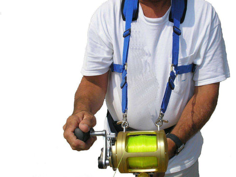 Stand up fishing harness