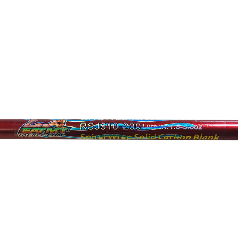 Snapper Whacker 2pc. Saltwater Jigging Rod | 15-20 lb. Slow Action, Fishing Rods - Eat My Tackle