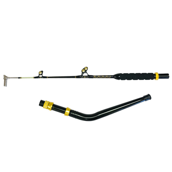 160-200 lb. Bent Butt Long Dredge Fishing Rod - Swing Tip - Tournament Edition, Fishing Rods - Eat My Tackle