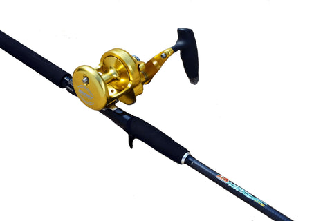 Tuna Terminator Jigging  Rod Combo  with a 18 Wide Reel, Fishing Rods - Eat My Tackle