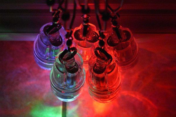 Deep Drop 3 Color Disco LED Fishing Lights - Waterproof to 2200 ft. (5 Pack), Fishing Tackle - Eat My Tackle