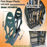 Fish Framed Rod Rack and Display Case, Fishing Tackle - Eat My Tackle