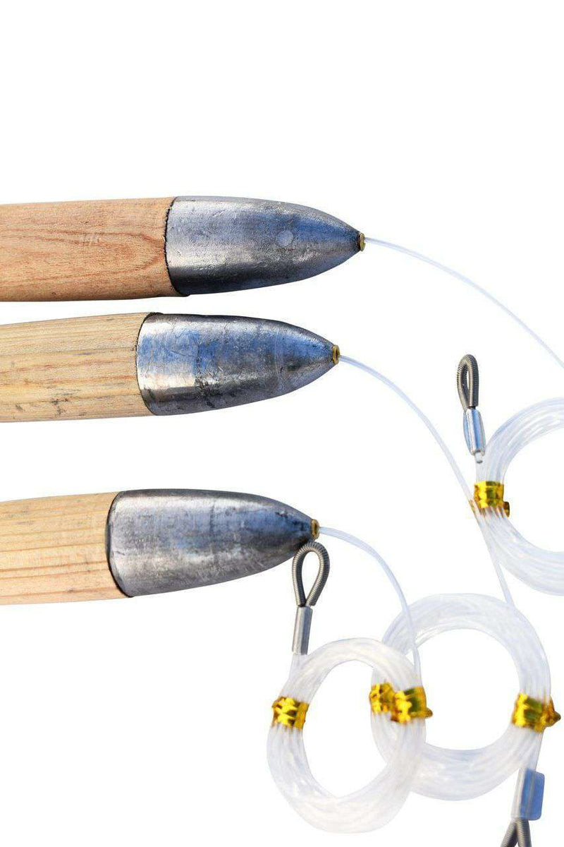 Cedar Plug Fishing Lures - Mono Rigged, Fishing Lures - Eat My Tackle