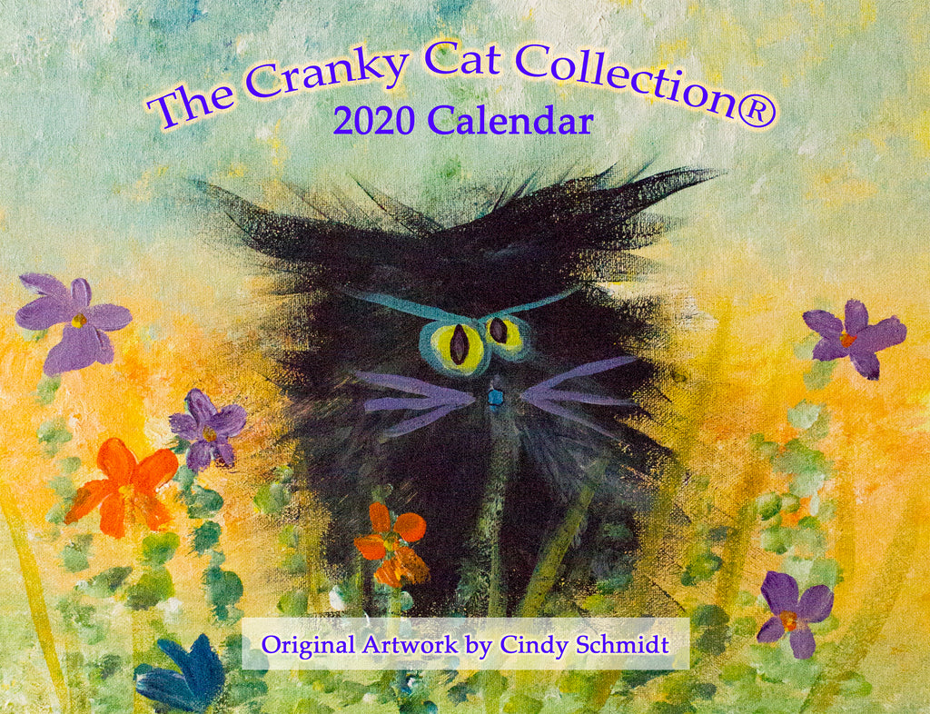 Cranky Cats 2020 Wall Calendar NOW ON SALE