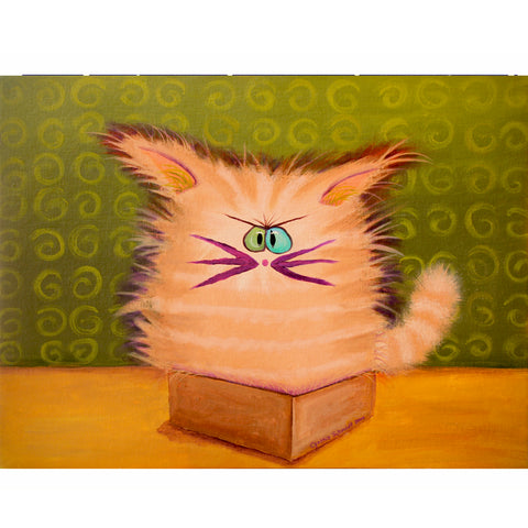Cat in a Box - Cranky Cats Collection™ from Cindy Schmidt