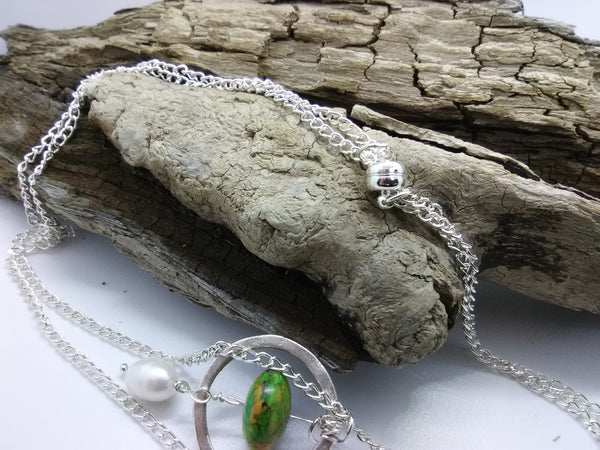 Planet of Green — Necklace