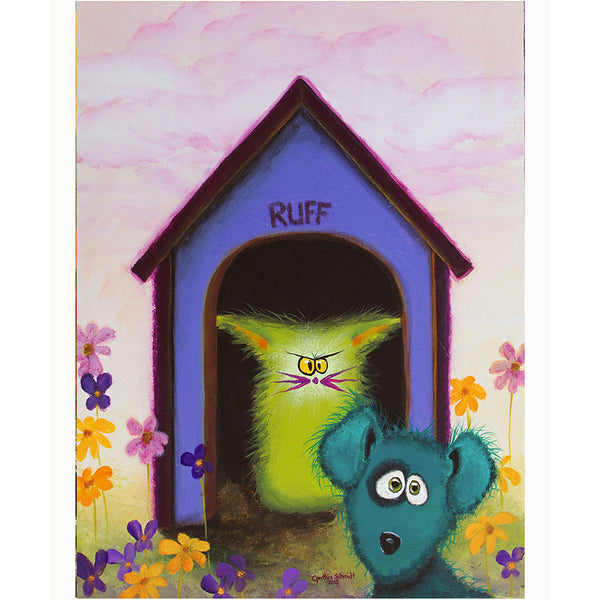 Ruff - Cranky Cat Collection™ by Cindy Schmidt