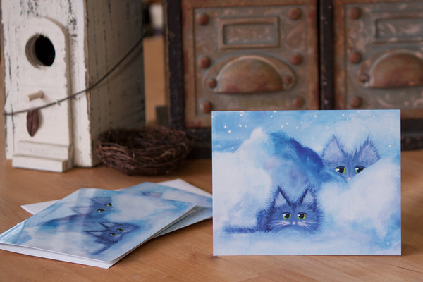 Cloud Kitties - Cranky Cat Collection™ by Cindy Schmidt