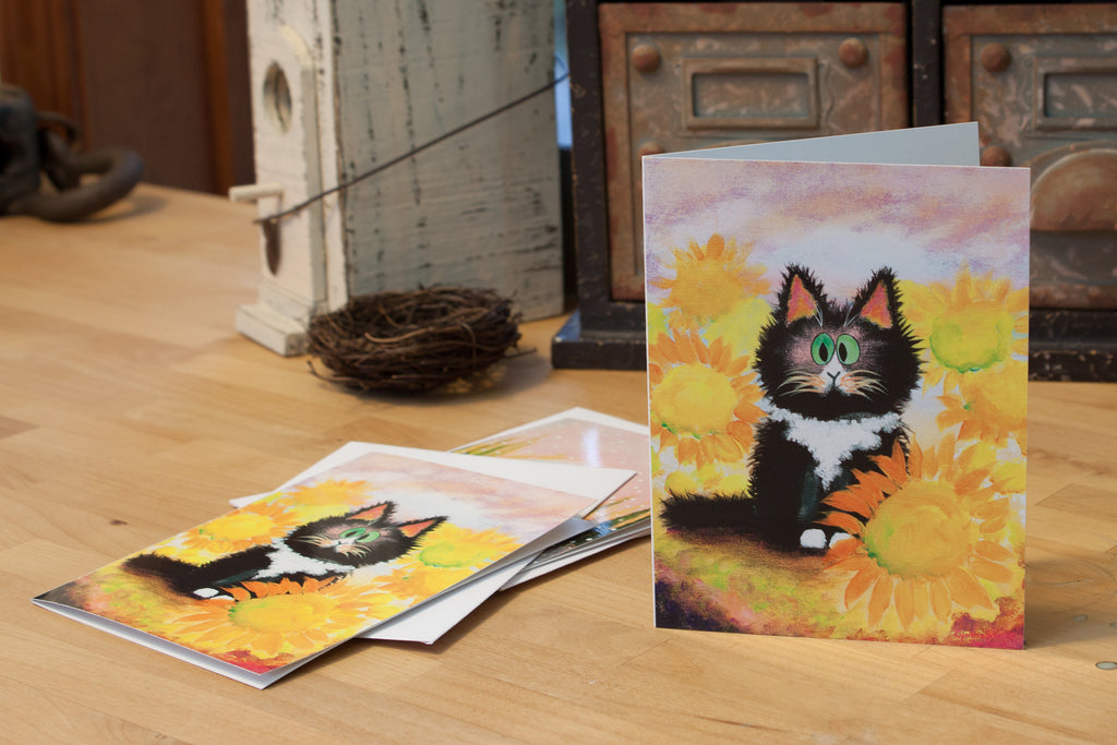 Tuxedo Cat - Cranky Cat Collection™ by Cindy Schmidt