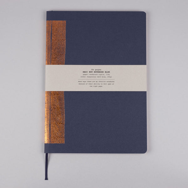 MUS | Stationery | Hot Copper notebook A4 blue | 6pcs/set