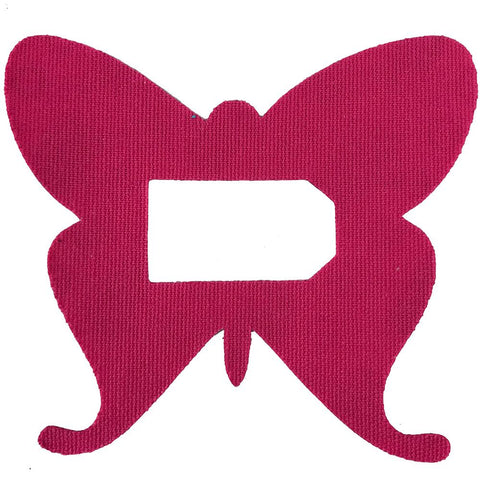 pink dexcom patch butterfly rockadex