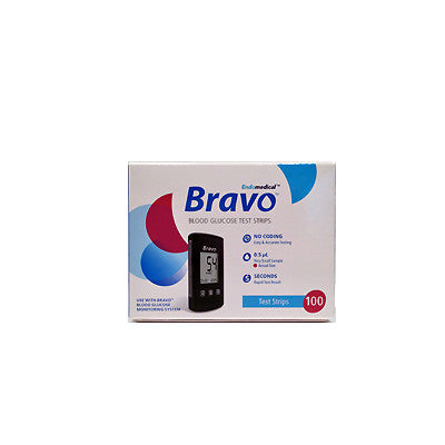 Bravo Test Strips