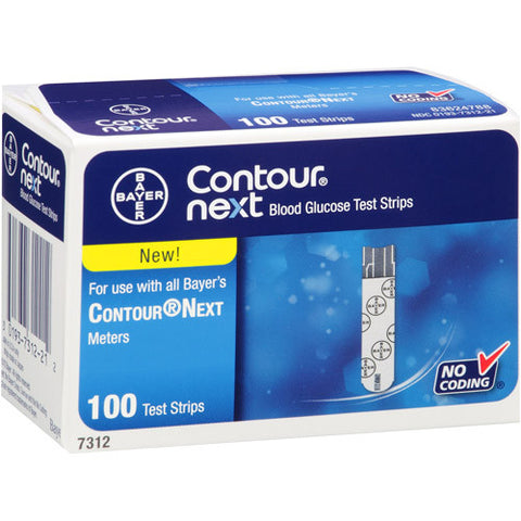Ascensia Contour Next Test Strips