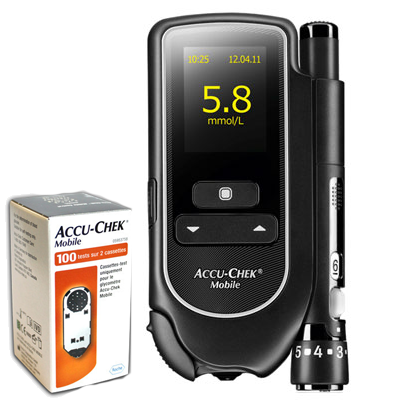 Free Accu-Chek Mobile Meter + Strips
