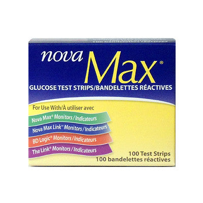 Nova Max Blood Glucose Strips