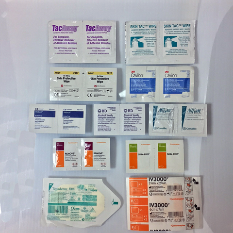 Sample Skin Prep Kits - Limit 1 per order