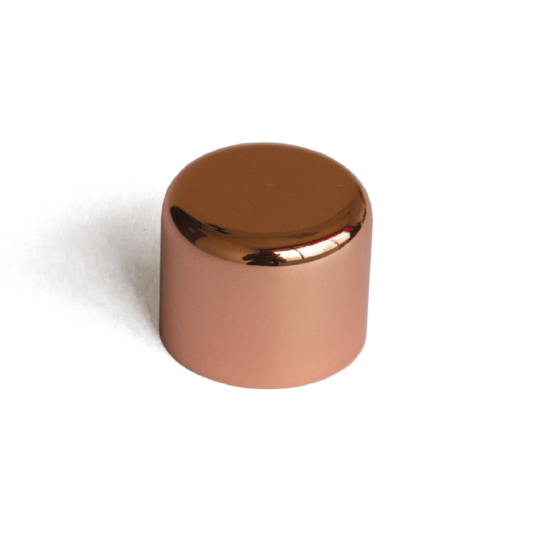 Metallic Copper Lid