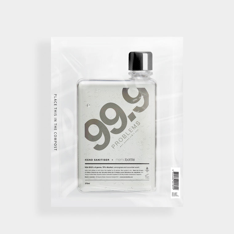 99.9 Problems - A6 Hand Sanitiser