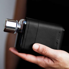A7 Leather Sleeve - Black