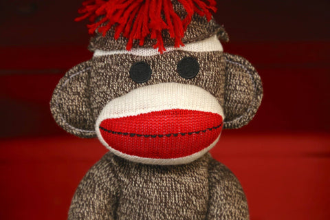 Revive your love for the sock monkey, and all the retro toys from your childhood...