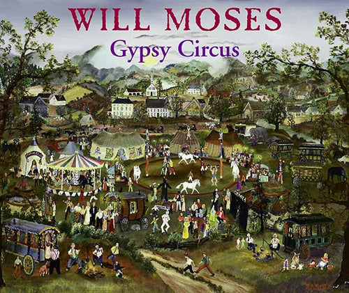 Will Moses Gypsy Circus Folk Art Puzzle