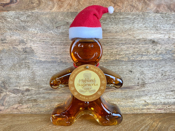 Highland Gingerbread Man Maple Syrup