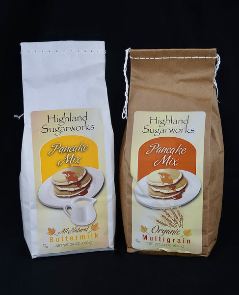 Highland Sugarworks Pancake Mixes